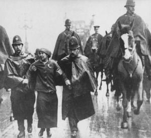 Sylvia-Pankhurst-arrested